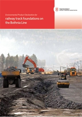 Bild på Environmental Product Declaration for railway track foundations on the Bothnia Line