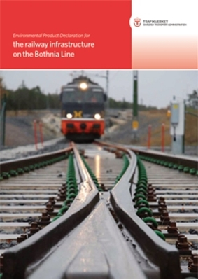 Bild på Environmental Product Declaration for the railway infrastructure on the Bothnia Line