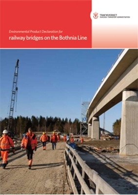 Bild på Environmental Product Declaration for railway bridges on the Bothnia Line