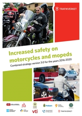 Bild på Increased Safety on Motorcycles and Mopeds - Combined strategy version 3.0 for the years 2016 - 2020