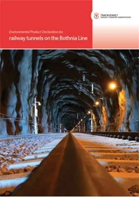 Bild på Environmental Product Declaration for railway tunnels on the Bothnia Line