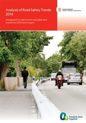 Bild på Analysis of road safety trends 2014 - management by objectives for road safety work towards the 2020 interim targets