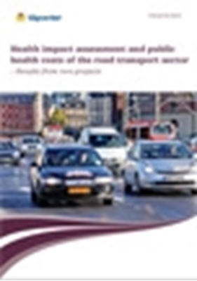 Bild på Health impact assessment and public health costs of the road transport sector