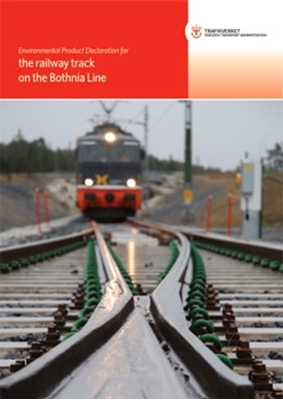 Bild på Environmental Product Declaration for railway track on the Bothnia Line