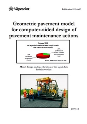 Bild på Geomteric pavement model for computer-aided design of pavement maintenance actions