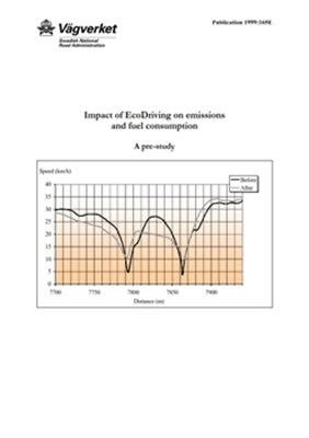 Bild på Impact of EcoDriving on emissions and fuel consumption