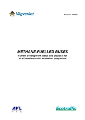Bild på Methane - fuelled buses