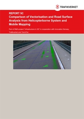 Bild på Comparison of Vectorisation and Road Surface Analysis from Helicopterborne System and Mobile Mapping