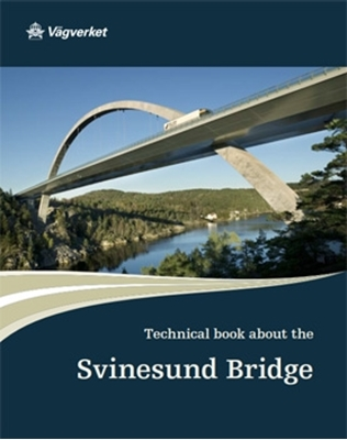 Bild på Technical book about the Svinesund Bridge