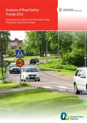 Bild på Analysis of Road Safety Trends 2012 - Management by Objectives for Road Safety Work, Towards the 2020 Interim targets