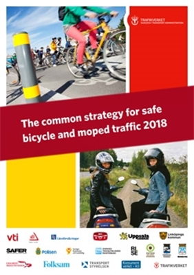 Bild på The common strategy for safe bicycle and moped traffic 2018