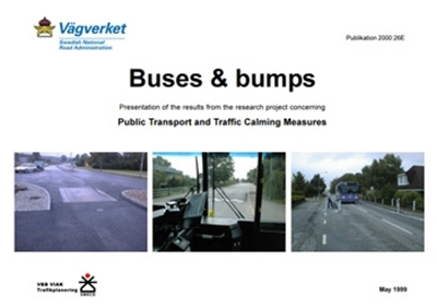 Bild på Buses & bumps: presentation of the results from the research project concerning public transport and traffic calming measures