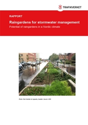 Bild på Raingardens for stormwater management – potential of raingardens in a Nordic  climate